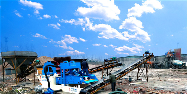 mobile sand washing plant
