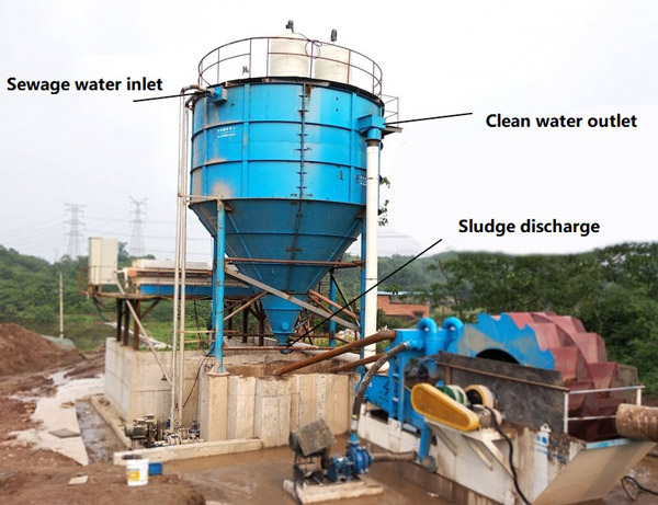 sand washing thickener tank LZZG