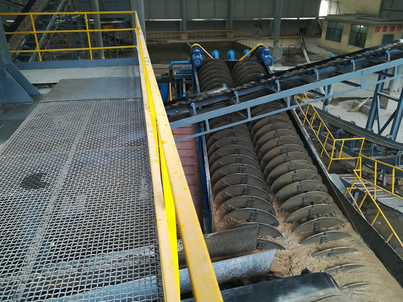 screw sand washer exporting to Indonesia