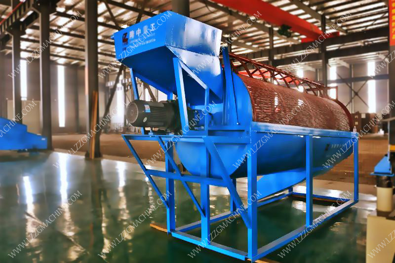 drum sand screening machine