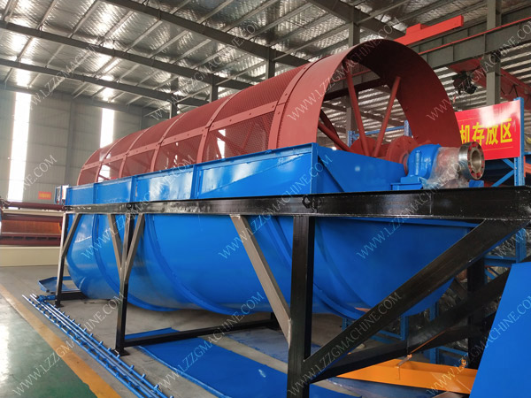 trommel screen for mountain sand separation