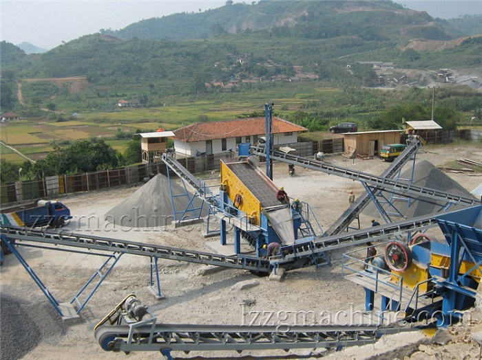 LZZG recycled aggregate equipment