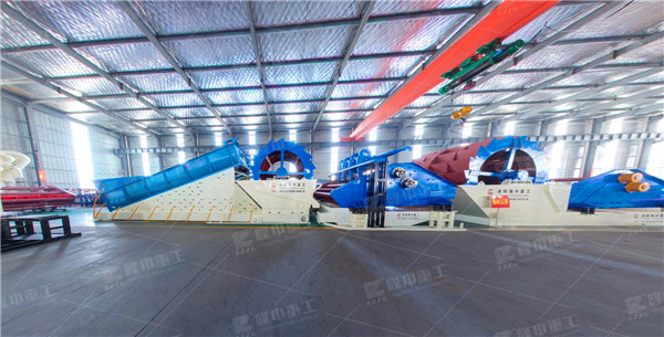 environmental protection sand washing production line