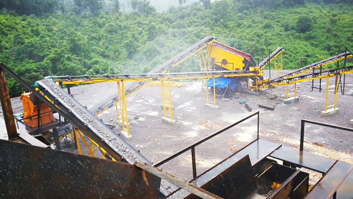 sand production plant