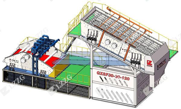 modular screening plant