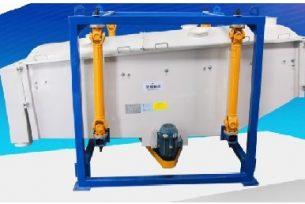 swing screen for frac sand