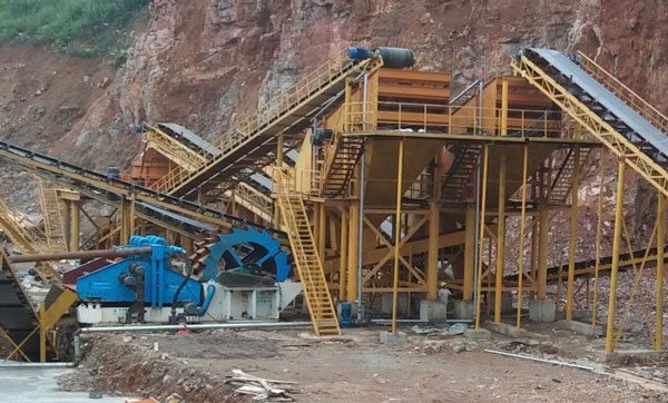 Limestone sand production line