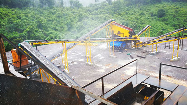 Construction waste sand making plant
