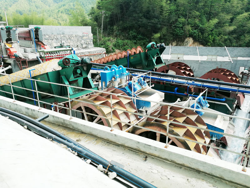 LZZG silica sand making plant