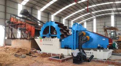 kaolin washing and screening plant