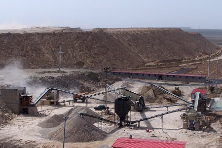 sand making plant