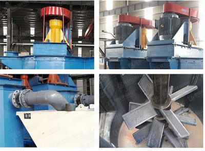 Quartz sand scrubbing machine