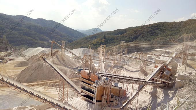 aggregate washing plant
