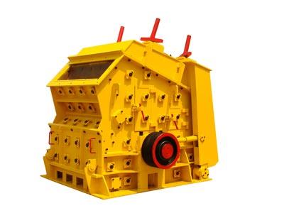 Bauxite crushing machine