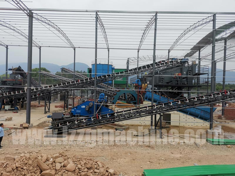 sand making plant, sand process project