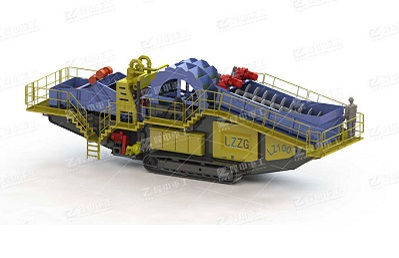 Vehicle-mounted foundation pit muck washing machine