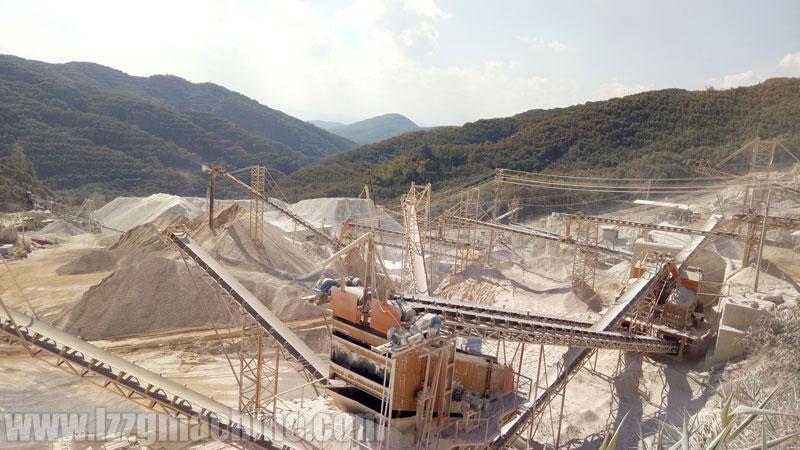 Limestone Sand Plant work site