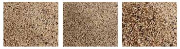 medium sand, fine sand, coarse sand