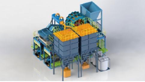 modular sand washing plant