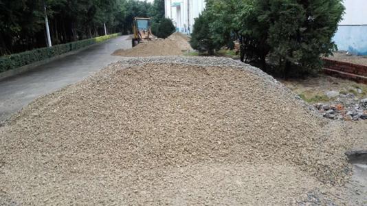 Graded gravel