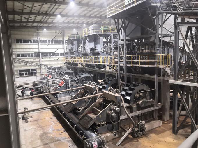 chrome ore washing plant