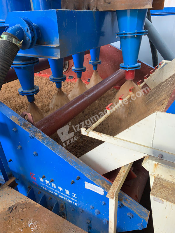 hydrocyclone separator for fine sand recovery